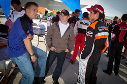 A.J. Allmendinger and Cole Whitt