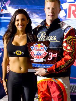 Podium: All Star third place Ben Cooper