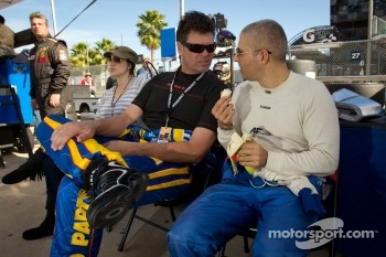 Michael Waltrip and Rui Aguas