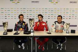 Winner Jules Bianchi, second place Jean-Eric Vergne, third place Stéphane Sarrazin