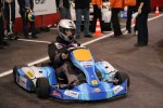 Miss France drives the electric Sodikart