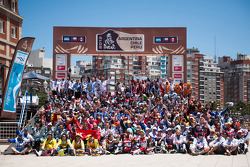 The 2012 Dakar riders