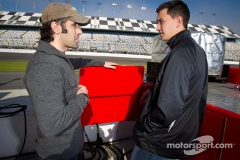 Dario Franchitti and Graham Rahal