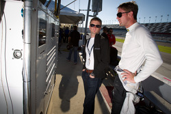 Ryan Hunter-Reay and Allan McNish