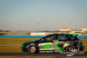 #30 i-MOTO Mazda Speed 3: Glenn Bocchino, Taylor Haquard