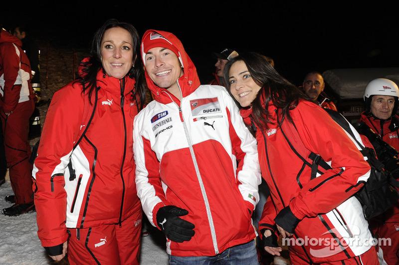 Nicky Hayden and friends