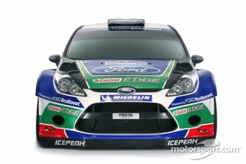 The Ford Fiesta RS WRC 2012 livery