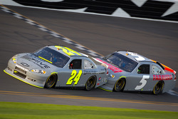 Jeff Gordon, Hendrick Motorsports Chevrolet, Kasey Kahne, Hendrick Motorsports Chevrolet