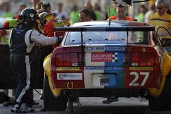 #27 VDS Racing Adventures Ford Mustang GT3: Raphael van der Straten, Benjamin Bailly, Julien Schroyen, Stephane Lemeret