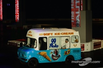 Ice Cream truck pacecar