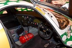 Interior of Porsche 962K
