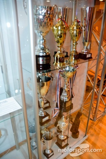JRM/Sumopower Nissan R35 GT1 trophy cabinet