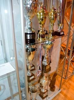 JRM/Sumopower Nissan R35 GT1 trophy cabinet