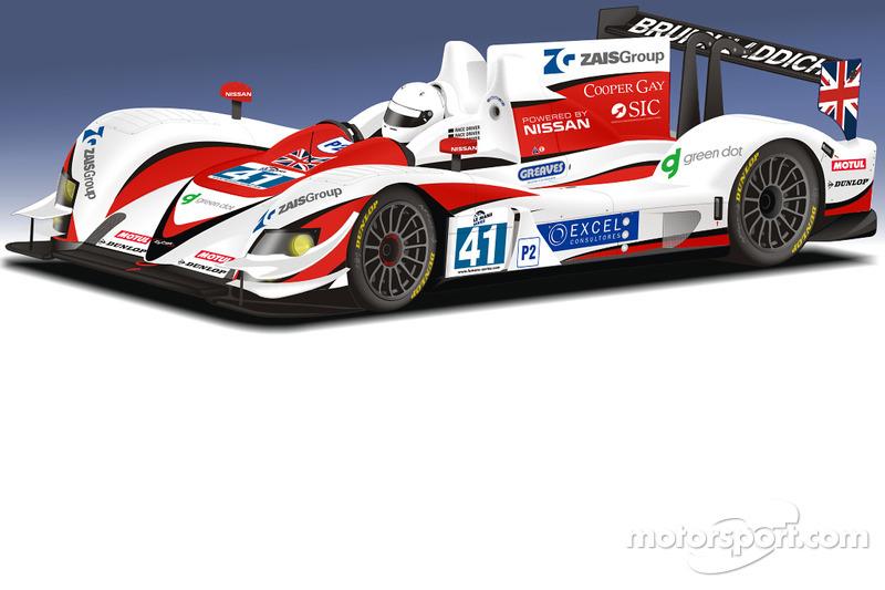 Greaves Motorsport 2012 livery