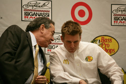 Felix Sabates with Jamie McMurray, Earnhardt Ganassi Racing Chevrolet