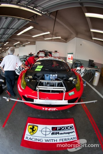 AIM Autosport Team FXDD Racing with Ferrari Ferrari 458