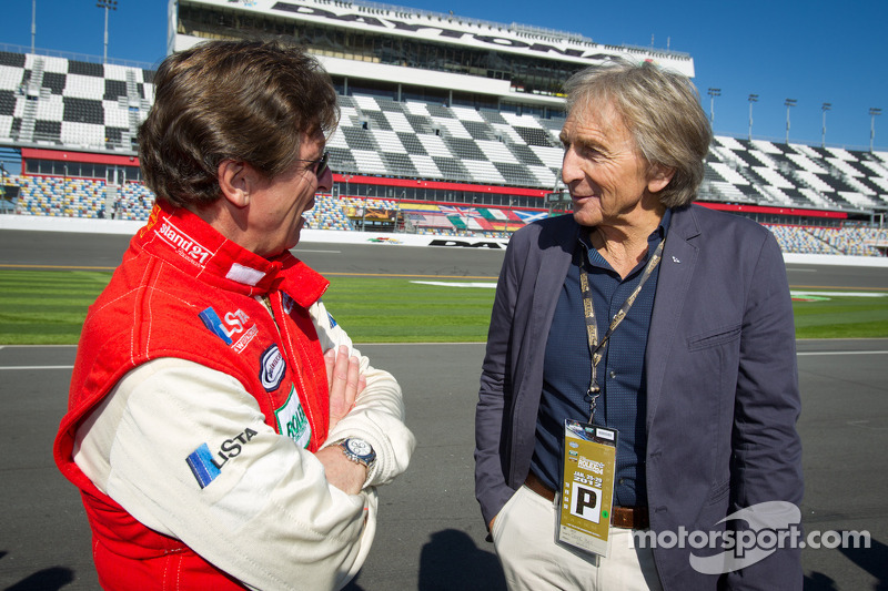 Didier Theys and Derek Bell