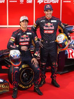 Daniel Ricciardo, Scuderia Toro Rosso and Jean-Eric Vergne, Scuderia Toro Rosso