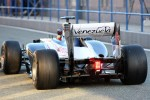 Pastor Maldonado, Williams F1 Team rear