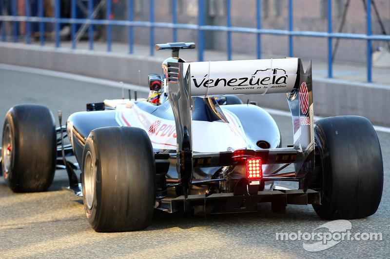 Pastor Maldonado, Williams F1 Team rear