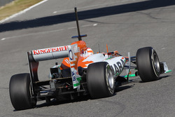 Paul di Resta, Sahara Force India Formula One Team rear