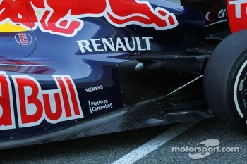 Mark Webber, Red Bull Racing rear