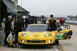 #4 Corvette Racing Chevrolet Corvette C6 ZR1: Oliver Gavin, Tom Milner