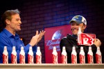 Kenny Wallace and Matt Kenseth, Roush Fenway Racing Ford