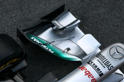 Technical detail, front wing