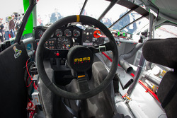 Cockpit of Danica Patrick, JR Motorsports Chevrolet