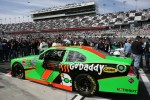 Pole winnig car of Danica Patrick, JR Motorsports Chevrolet