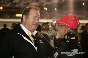 Chip Ganassi with Juan Montoya