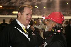 Chip Ganassi with Juan Montoya
