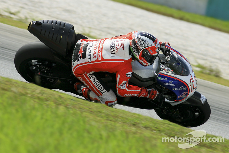 Franco Battaini, Ducati Test Team