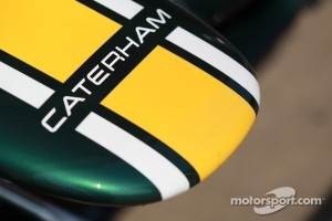 Caterham nose cone