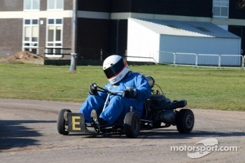 Historic Karting demonstration