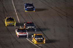Jeff Burton, Richard Childress Racing Chevrolet leads the field onto pit road