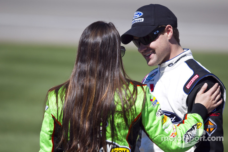 Ricky Stenhouse, Jr. and Danica Patrick