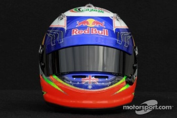 Daniel Ricciardo, Scuderia Toro Rosso helmet 