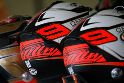 Helmets of Kimi Raikkonen, Lotus F1 Team