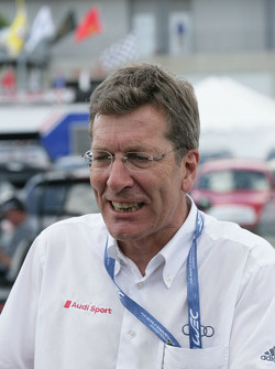 Ralf Juttner, Audi technical director