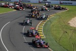 Start of the race, Jenson Button, McLaren Mercedes