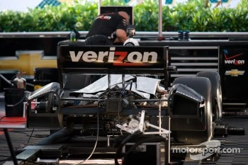 Car of Ryan Briscoe, Team Penske Chevrolet