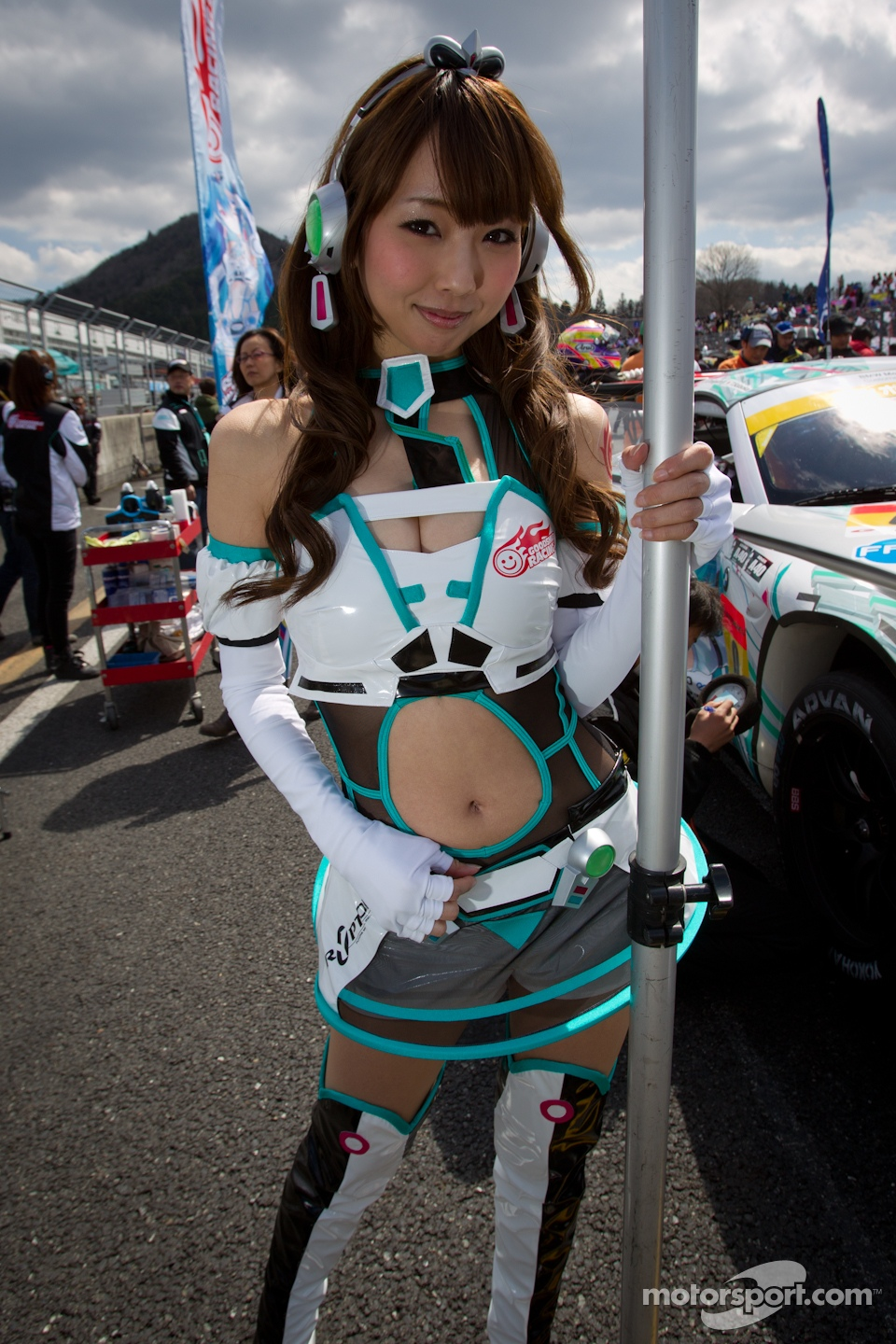 GSR&amp;Studie with Team Ukyo race  queen