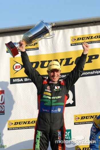 Round 3 Winner Jason Plato