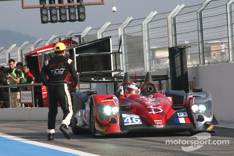 Race winner #46 Thiriet by TDS Racing Oreca 03 - Nissan: Mathias Beche, Pierre Thiriet