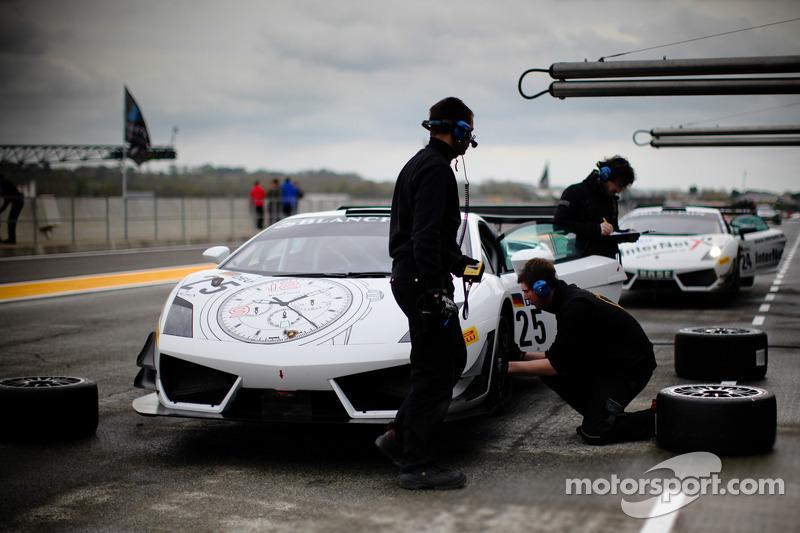 #25 Reiter Engineering Lamborghini Gallardo LP 600: Darryl O'Young, Peter Kox