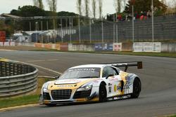 #14 Team Novadriver Audi R8 LMS: Ni Amorim, Cesar Campanico