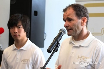 Ma Qing Hua, Hispania Racing F1 Team, Test Driver with Luis Perez-Sala, HRT Formula One Team, Team Prinicpal