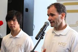 Ma Qing Hua, Hispania Racing F1 Team, Test Driver with Luis Perez-Sala, HRT Formula One Team, Team Prinicpal